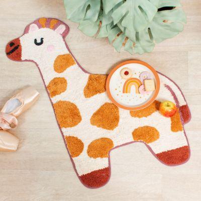 Vloerkleed Giraffe kinderkamer
