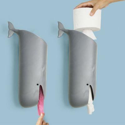 Toiletpapierhouder Moby de Walvis