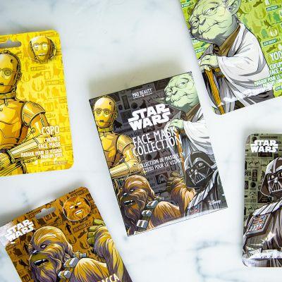 Star Wars gezichtsmaskers in set van 4