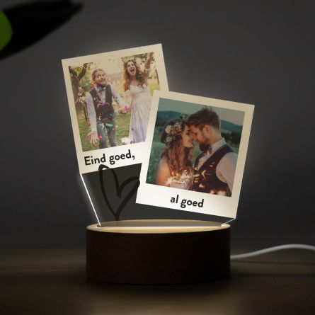 LED-lamp in Polaroid Design
