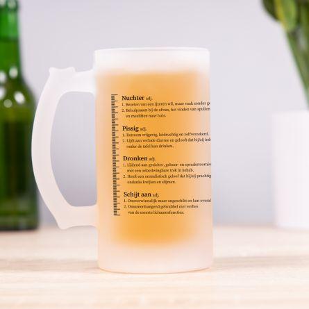 Bierpul met Drinkniveaus