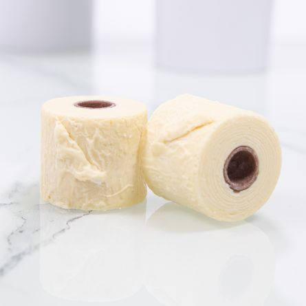 Chocolade toiletpapier 2 mini-rollen