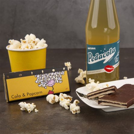 Zotter Chocolade Cola & Popcorn