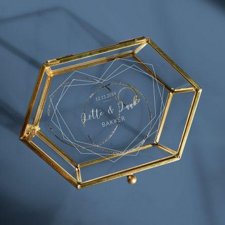 Glazen Box voor Bruiloft