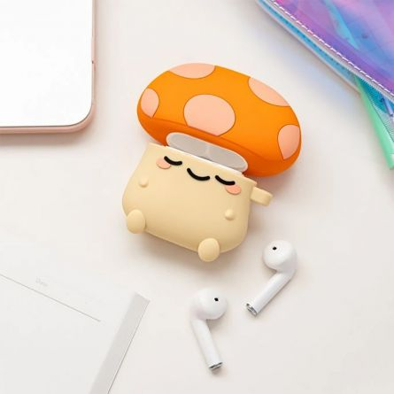 Mini-paddestoel Airpod case