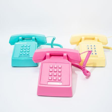Retro Telefoon in 80s Look