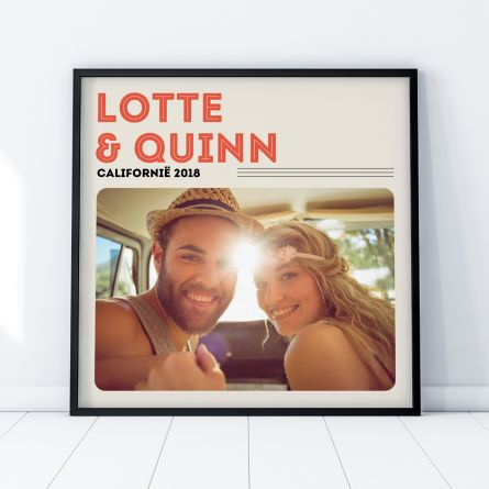 Poster LP hoes