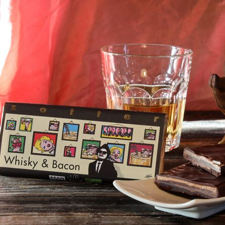 Zotter Chocolade Whisky & Bacon