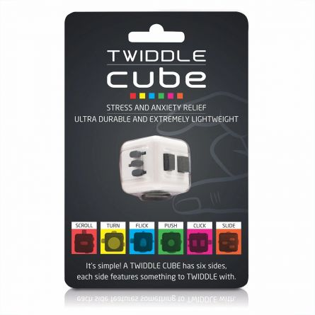 Twiddle Cube anti stress dobbelsteen