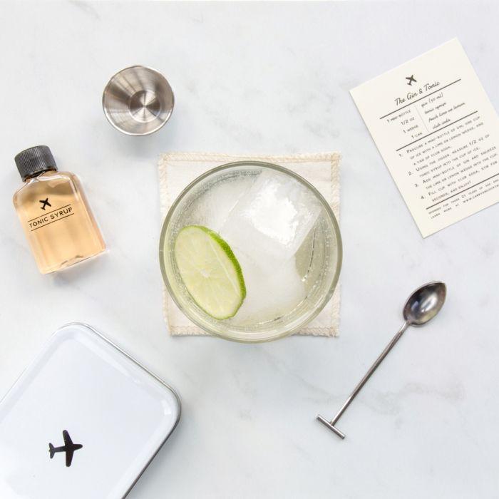 Cocktailsets voor op het vliegtuig - Gin & Tonic