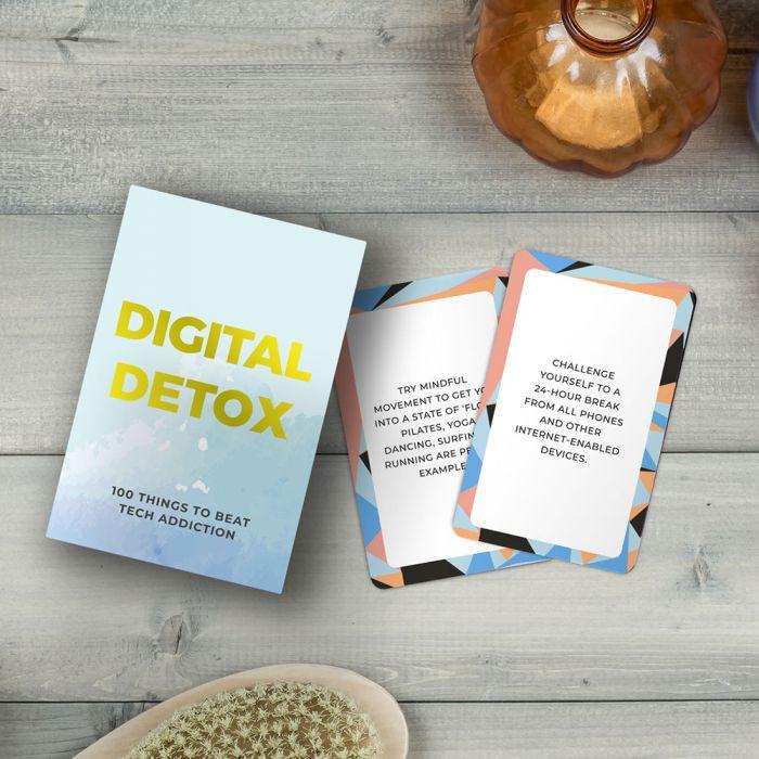 Digitale detox kaartset