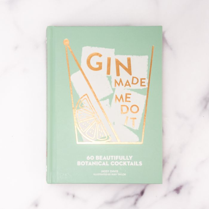 Gin made me do it cocktailboek