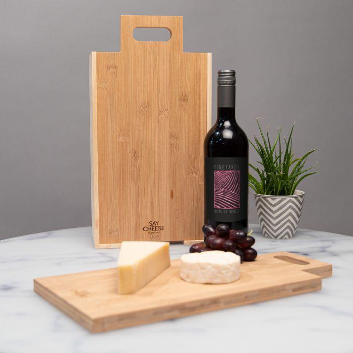 Cadeaubox voor kaas en wijn