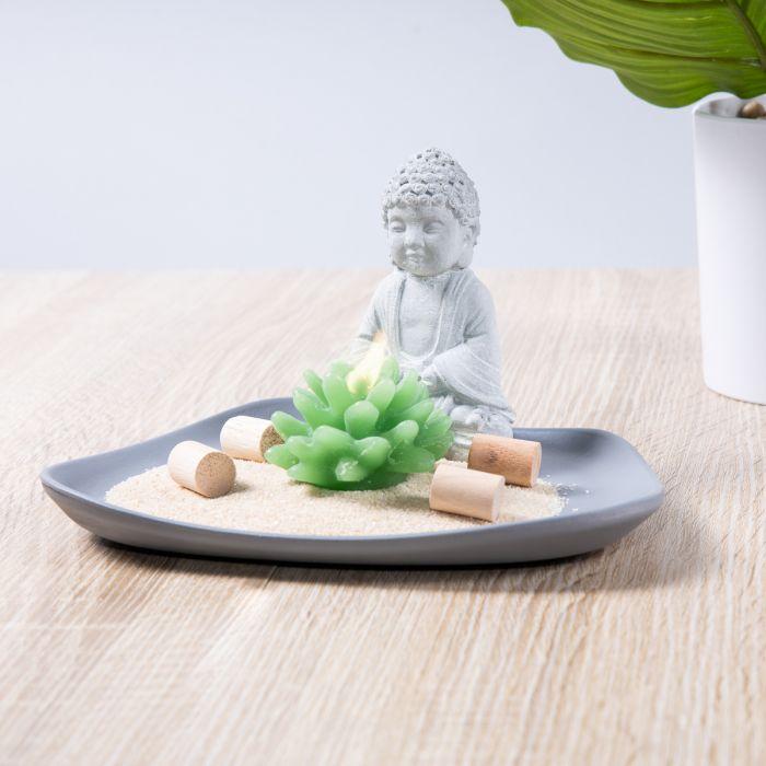 Boeddha op een Schaal