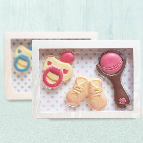 Baby sets uit chocolade