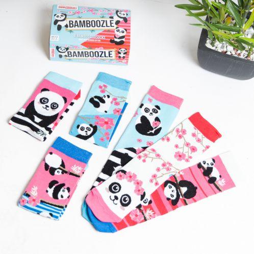 Bamboozle Panda Sokken Mix & Match