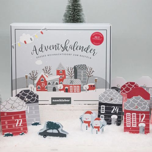 Adventskalender Kerstdorp DIY