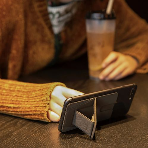 Smartphonehouder met kaartsleuf