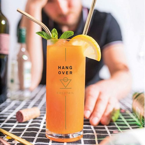 Cocktail Glas tegen een Kater