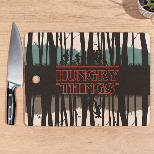 Hungry Things snijplank
