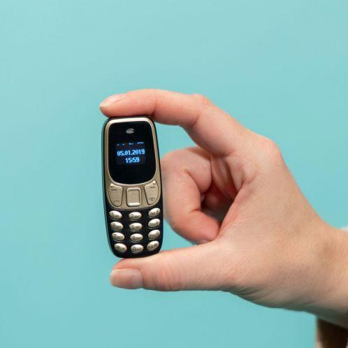 De kleinste telefoon ter wereld