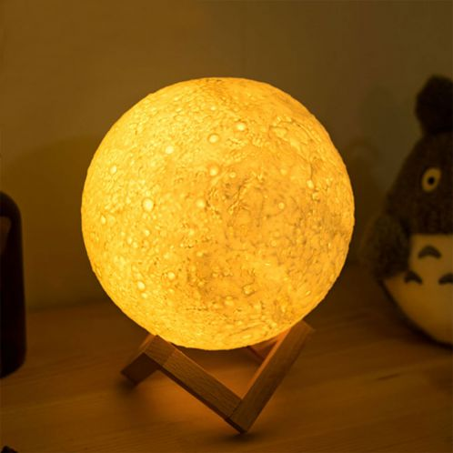 Maan nachtlampje met kleurverandering