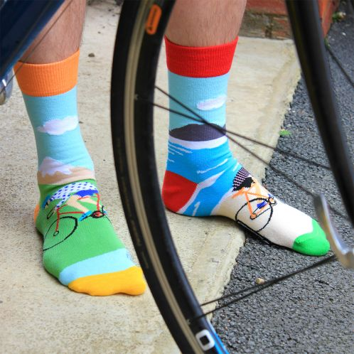 Fietssokken On Your Bike Oddsocks