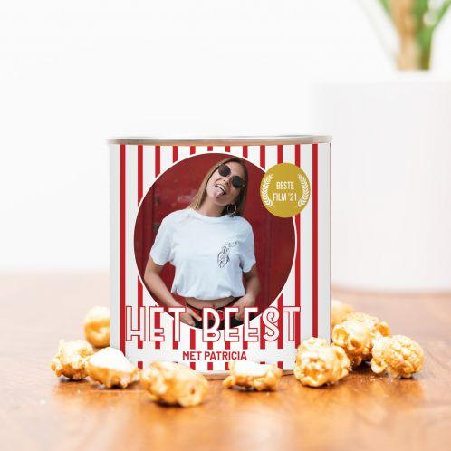 Gouden Popcorn met Foto en Tekst