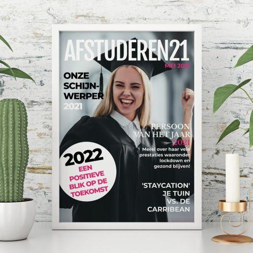 Tijdschrift Cover Stijl Poster