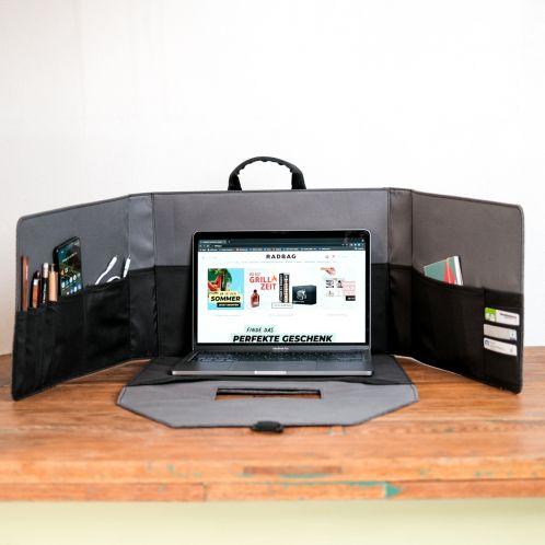 Mobiele Werkplek in een Aktetas