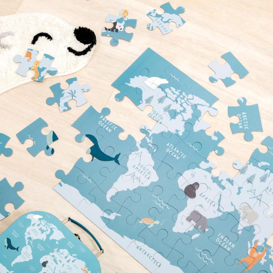Puzzel voor Kinderen Bedreigde diersoorten