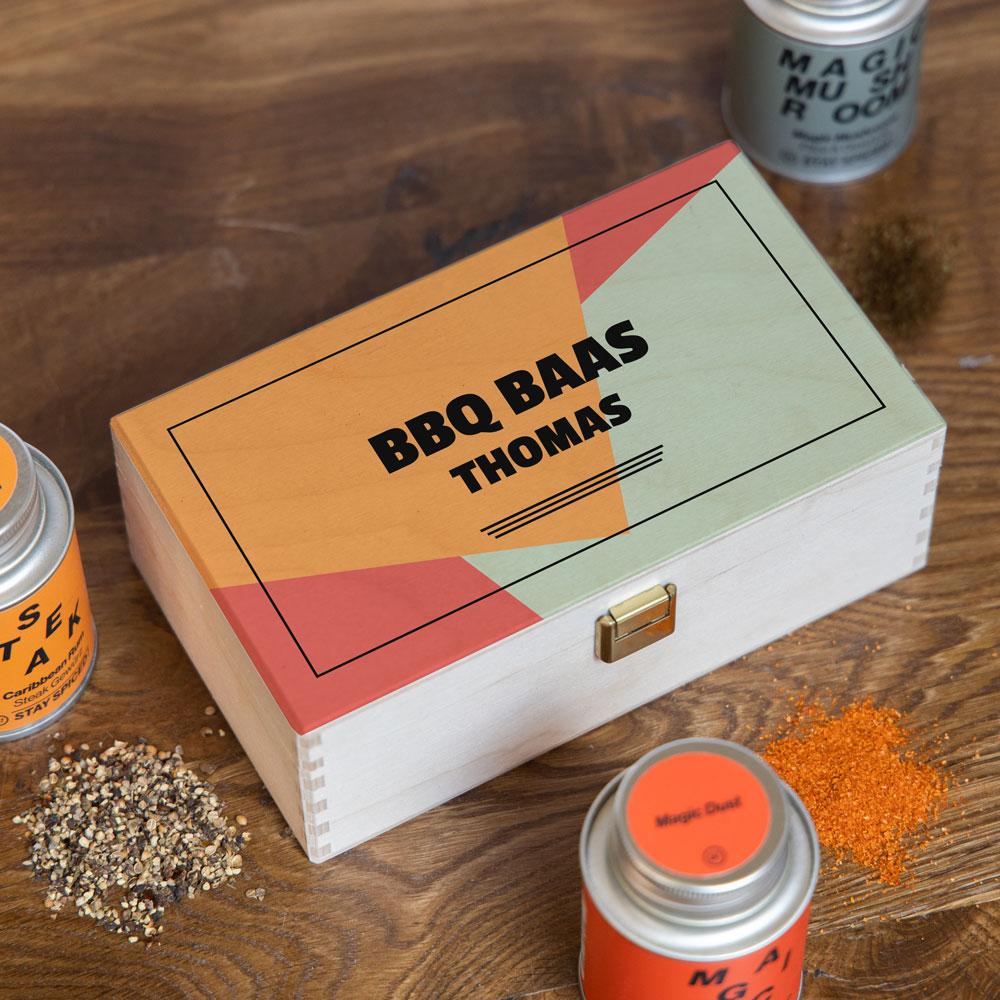 Kruidenbox set met tekst