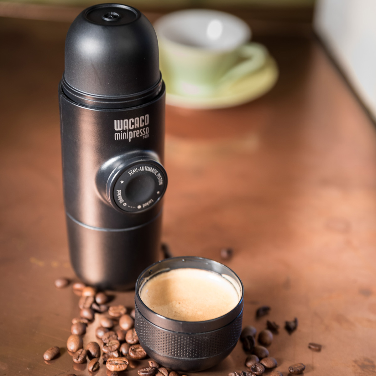 WacacominipressoMinipresso - meest compacte espressomachine ter wereld - Capsules(NS )