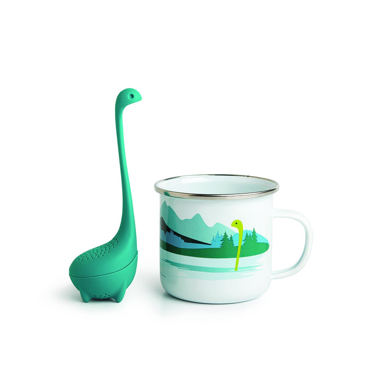 Nessie theebeker en thee-ei