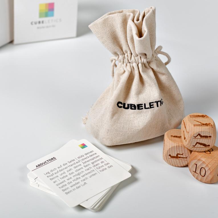 Fitness Dobbelstenen Cubeletics