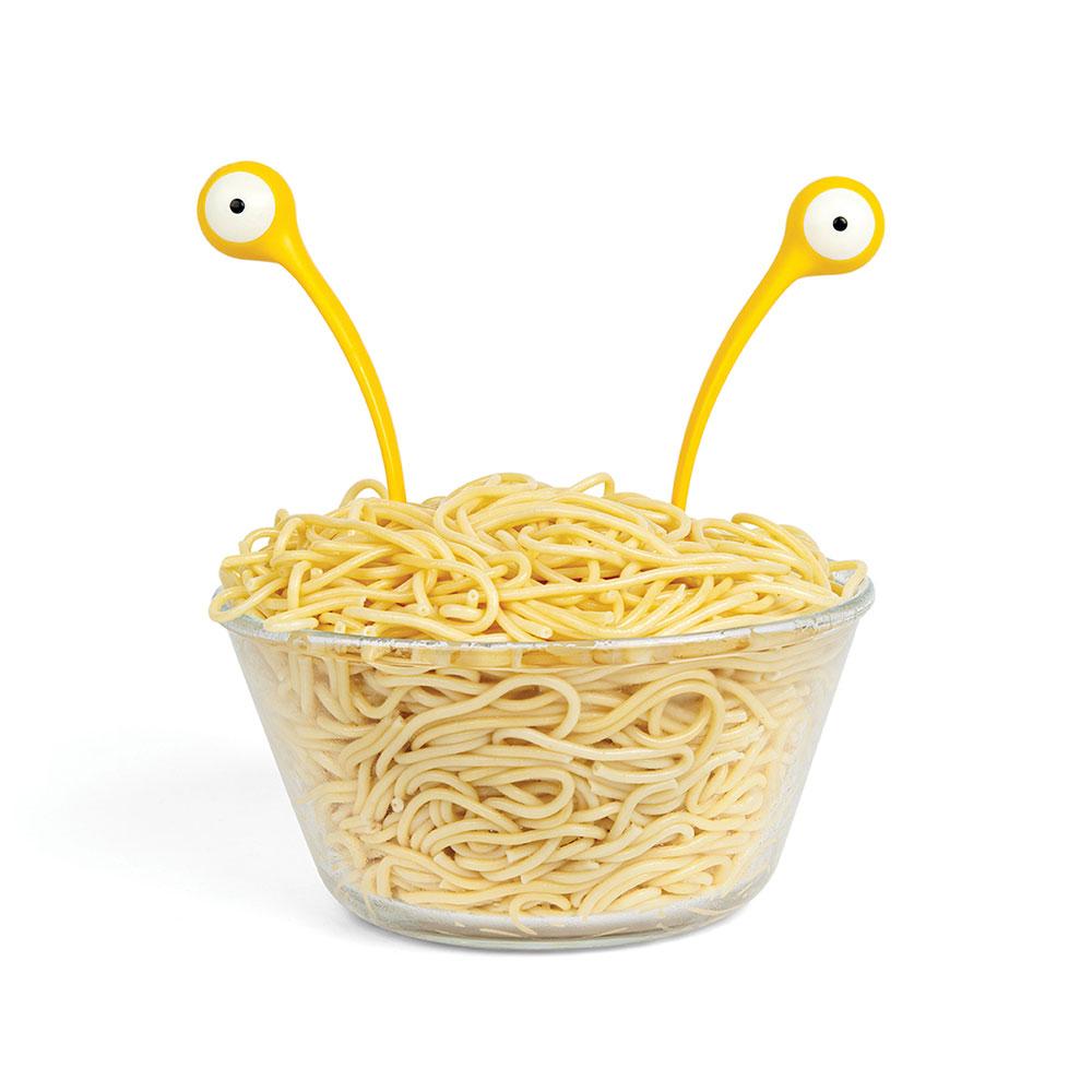 Vliegend spaghettimonster bestek