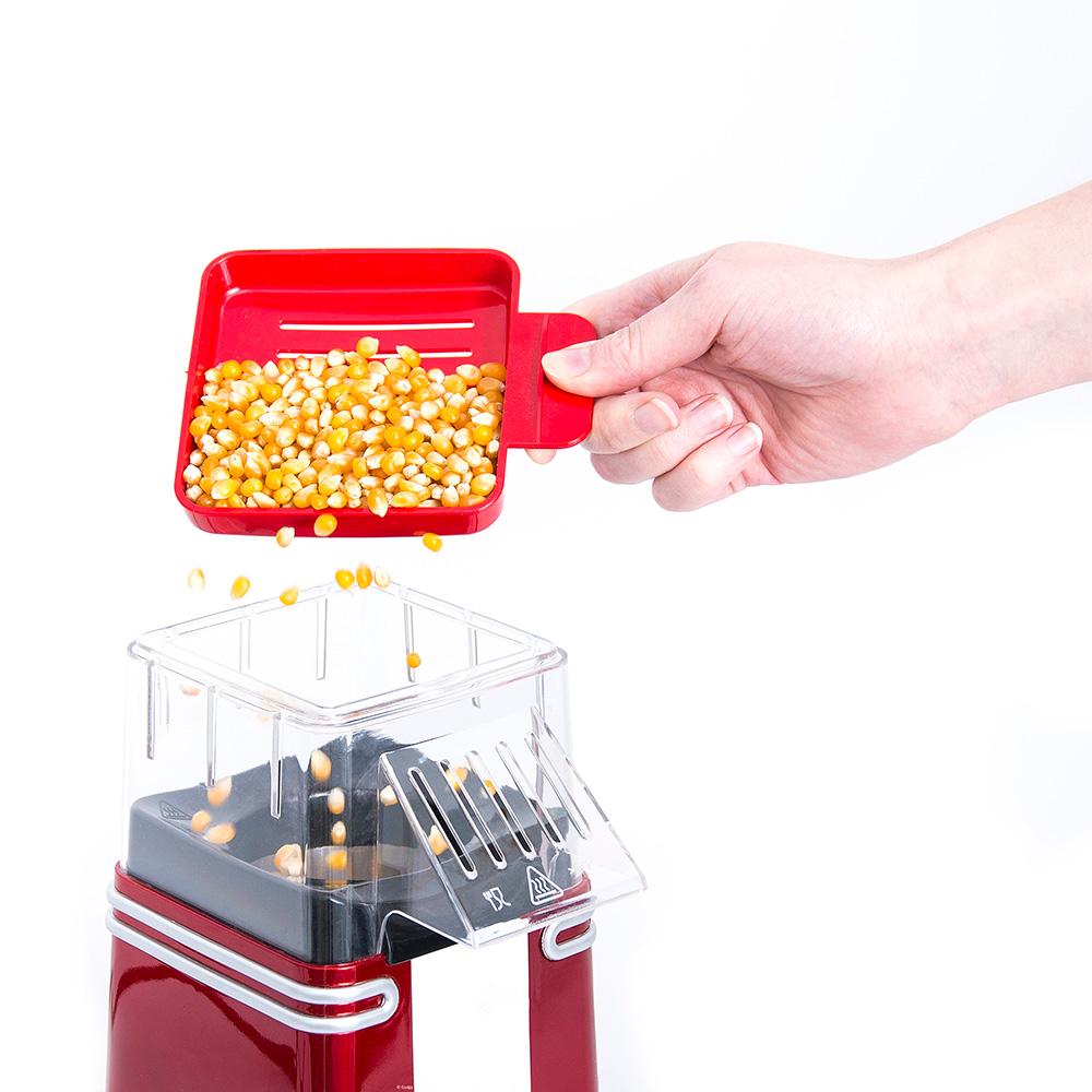 Retro mini popcorn machine