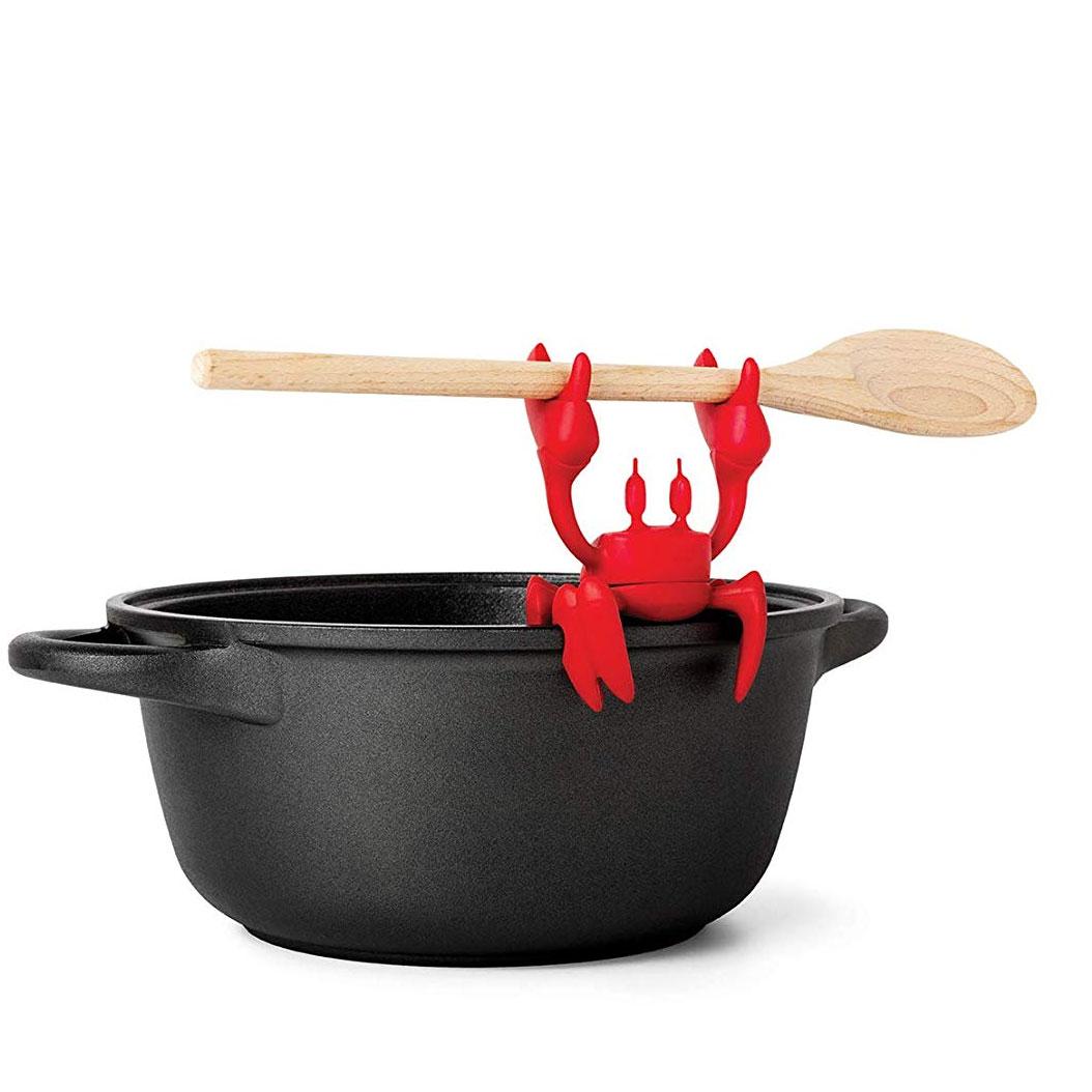 Rode krab lepelhouder