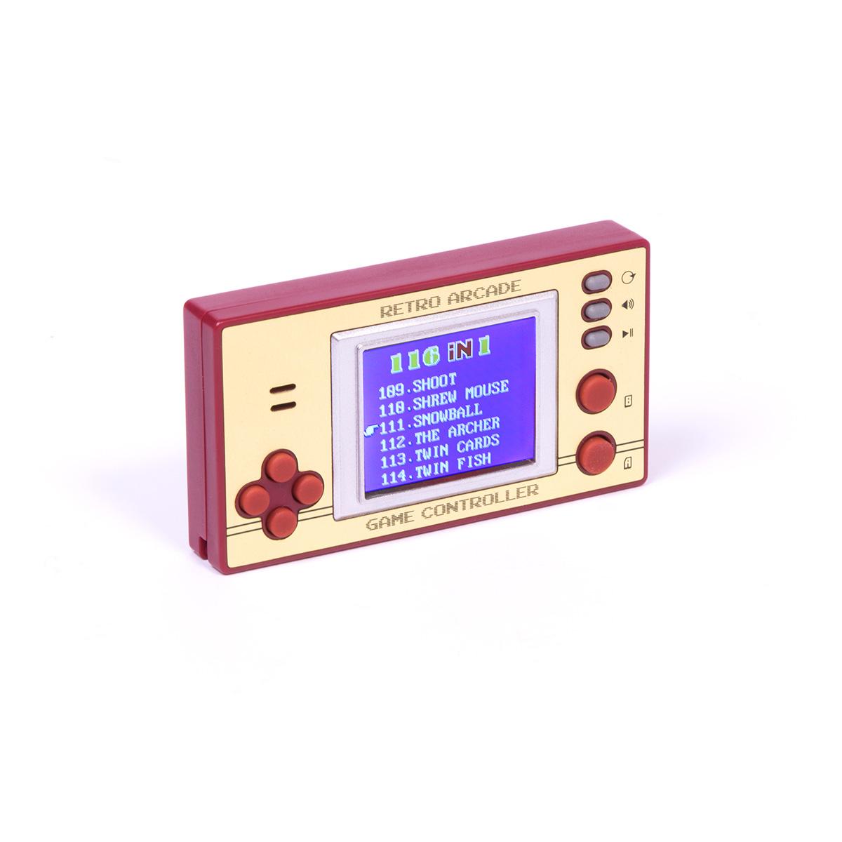 Retro Arcade Games Mini Console
