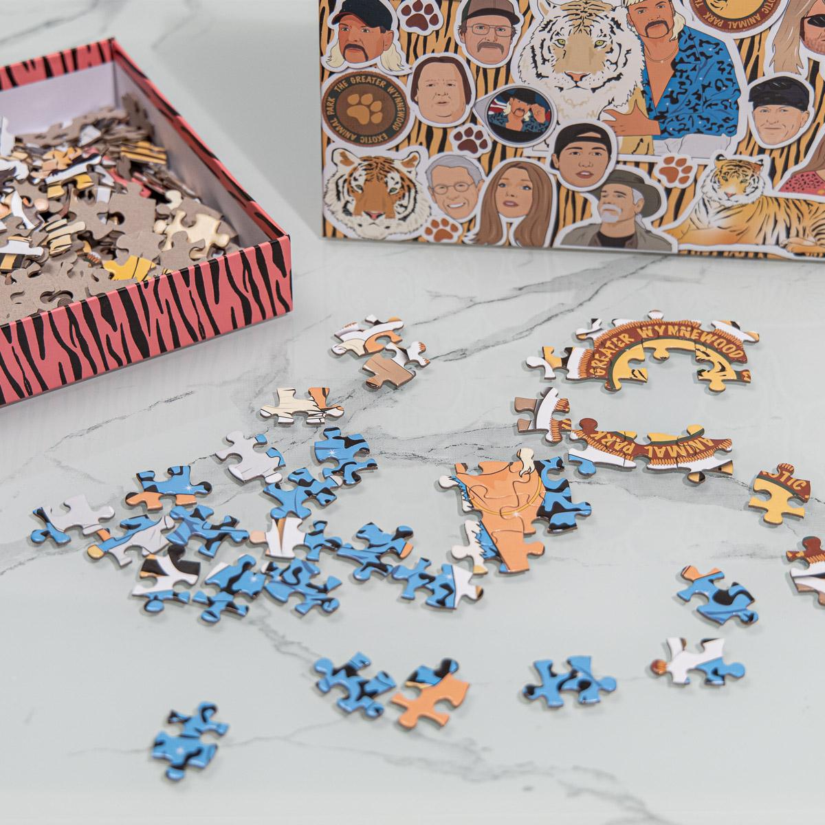 Puzzel Tiger King 500 stukjes