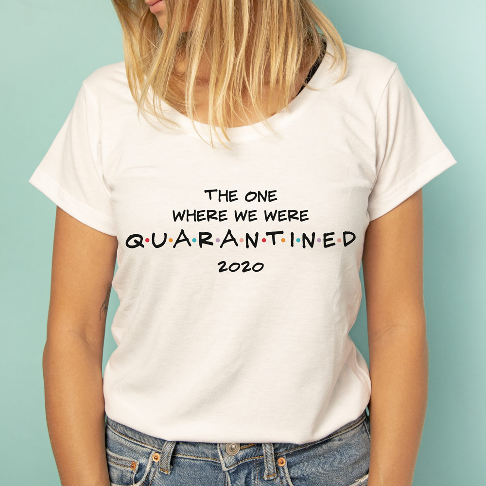 T-shirt quarantaine