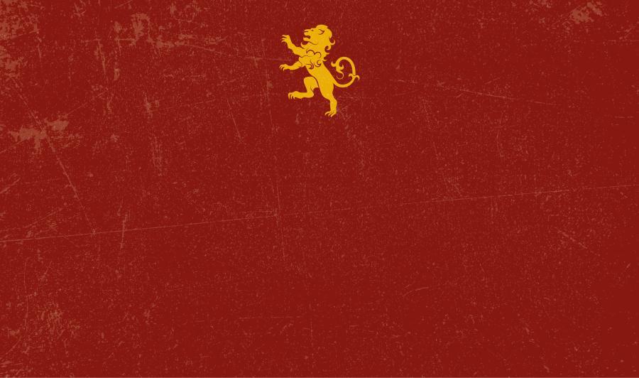 Schlüsselbret mit Wappen (BRWAXT) - Rot