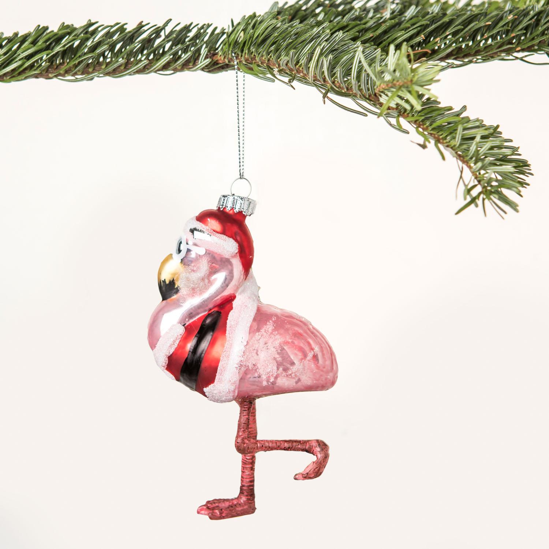 Mr. Flamingo Kerstboom decoratie
