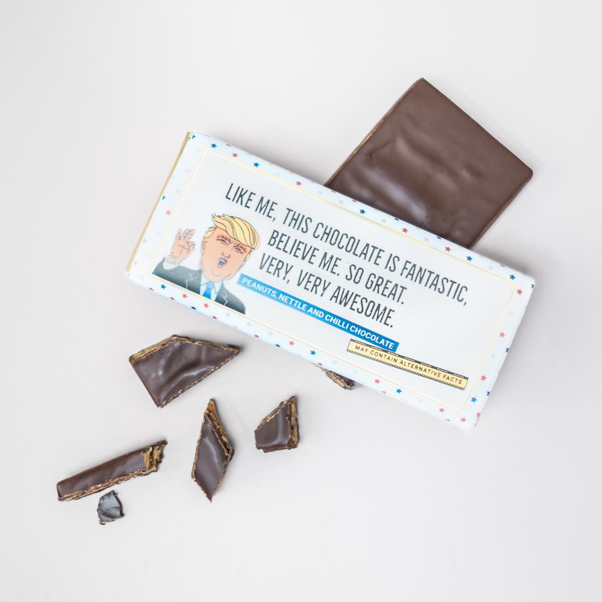 Trump chocolade