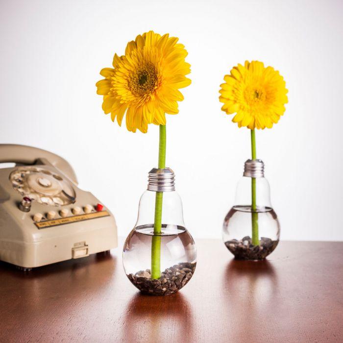 Glühbirnen Vase 6er Set