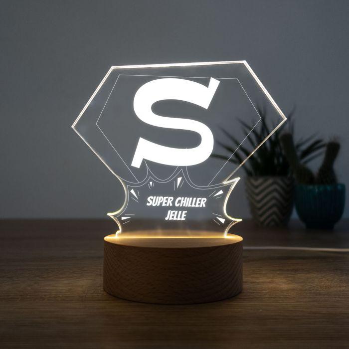 LED lamp Superman