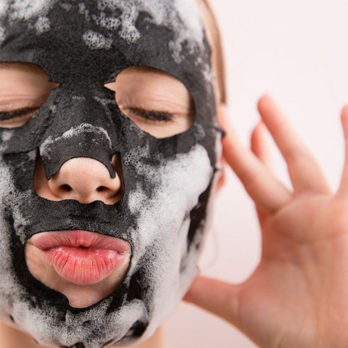 Belletjes gezichtsmasker