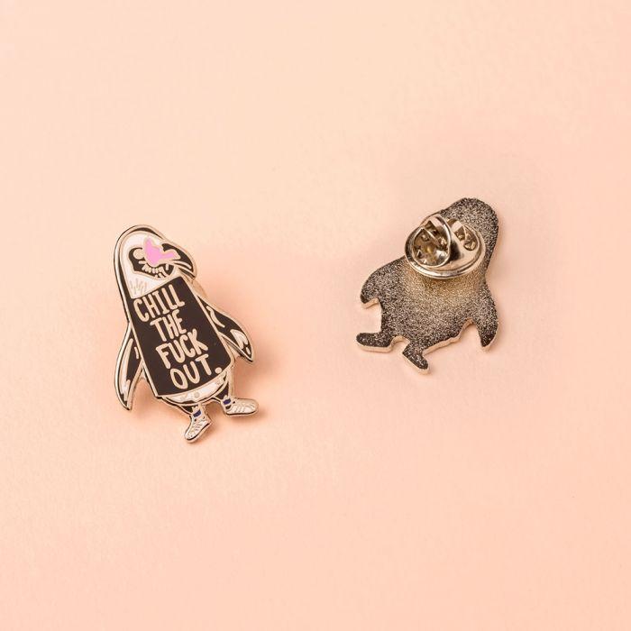 Chill out pinguïn pin