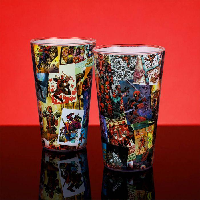 Deadpool Drinkglas