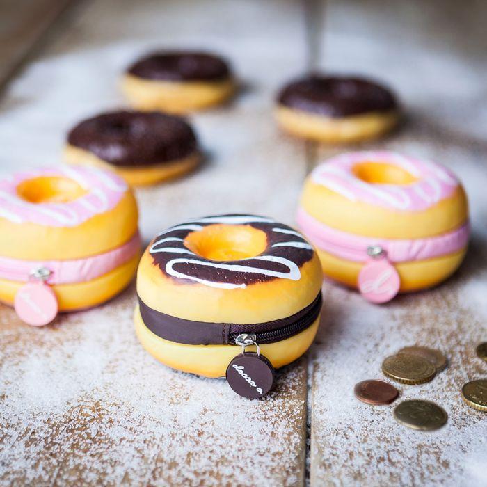 Geurende portemonnee in de vorm van een donut